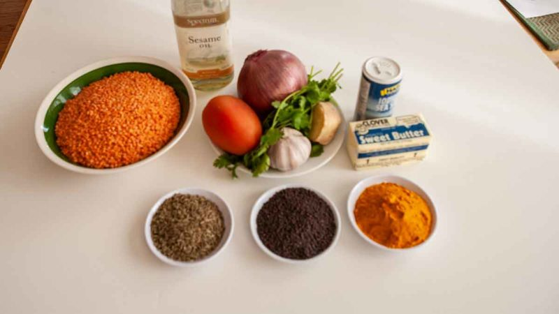Dal Bhat: Ingredients