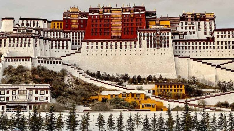 Travel Tibet: Potala Place in Winter