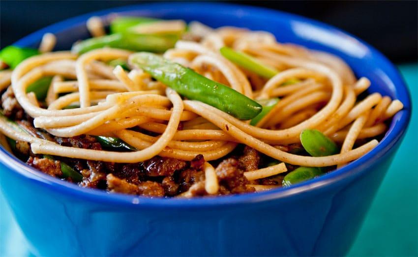 Thukpa Gyathuk: Chinese-style Noodles