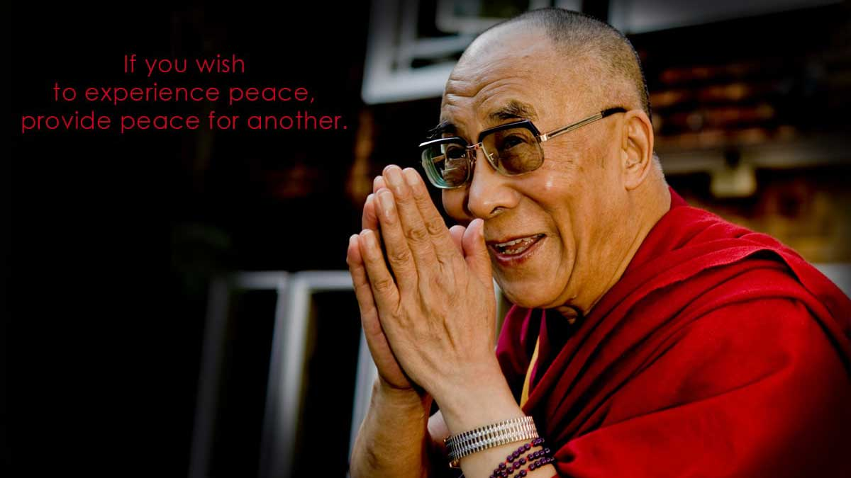 His Holiness the Dalai Lama of Tibet