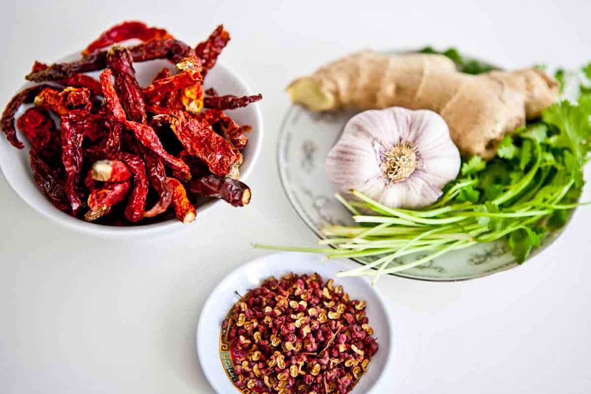 Tibetan hot sauce ingredients