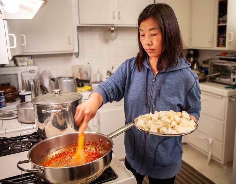 Nima la cooking shogo khatsa.
