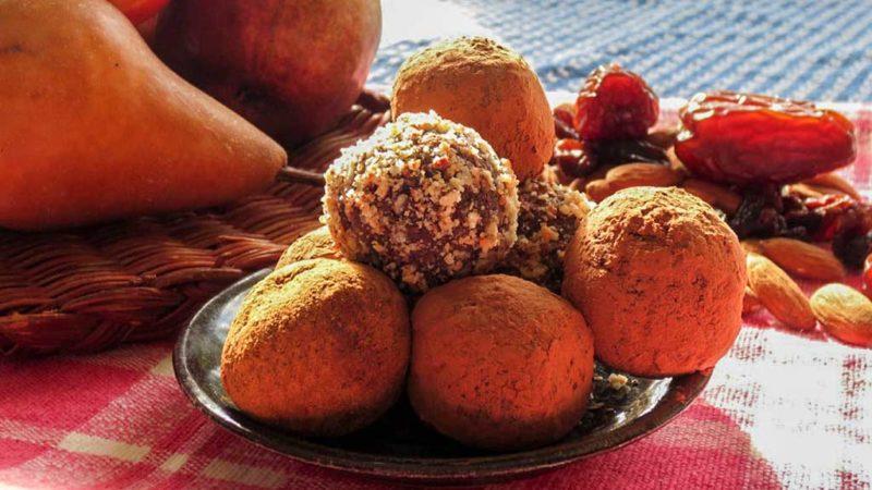 Tsampa snack balls