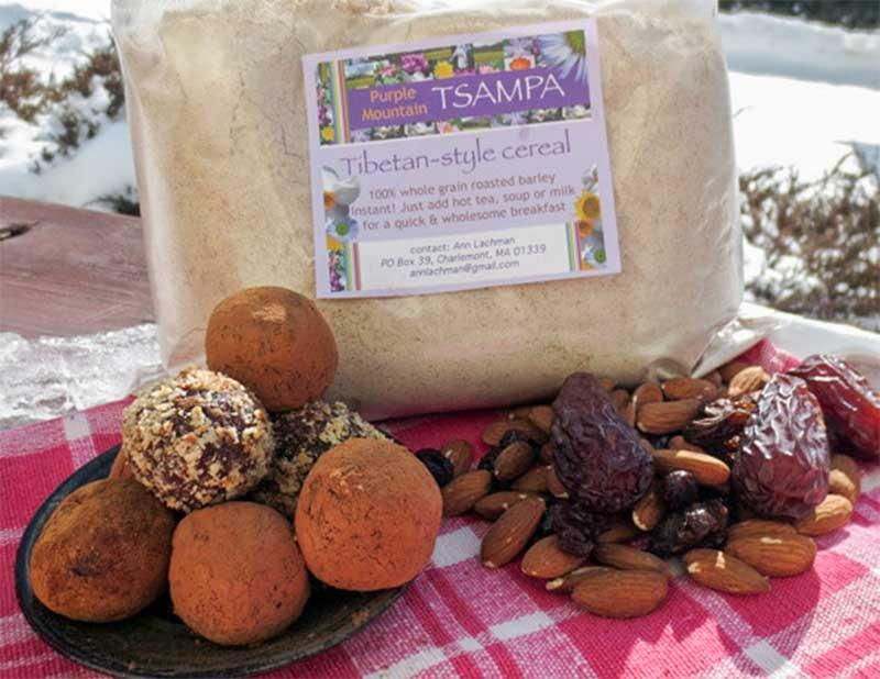 Tsampa Snack Balls: Ingredients