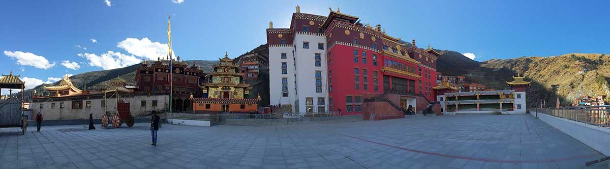 Kathok Monastery in Kham, Eastern Tibet