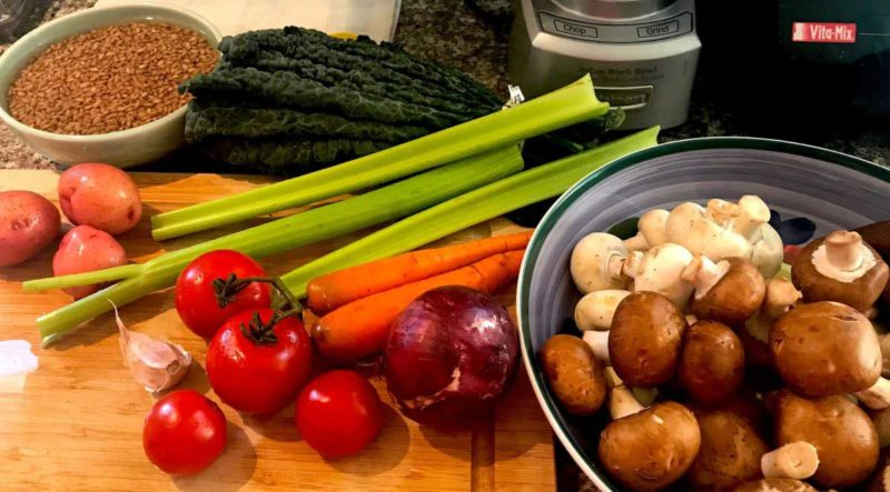 Ingredients Barley Mushroom Soup