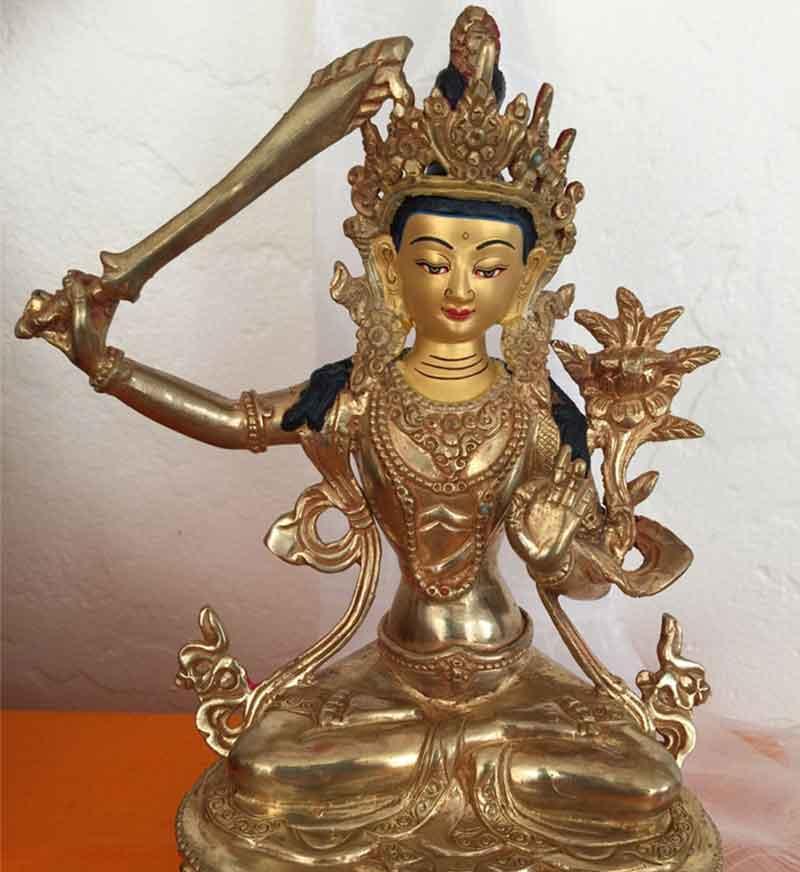 Statue of Jamphelyang (Manjushri)