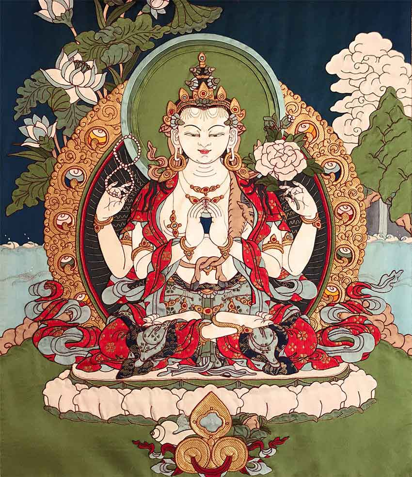 Avalokitesvara: Bodhisattva of Compassion