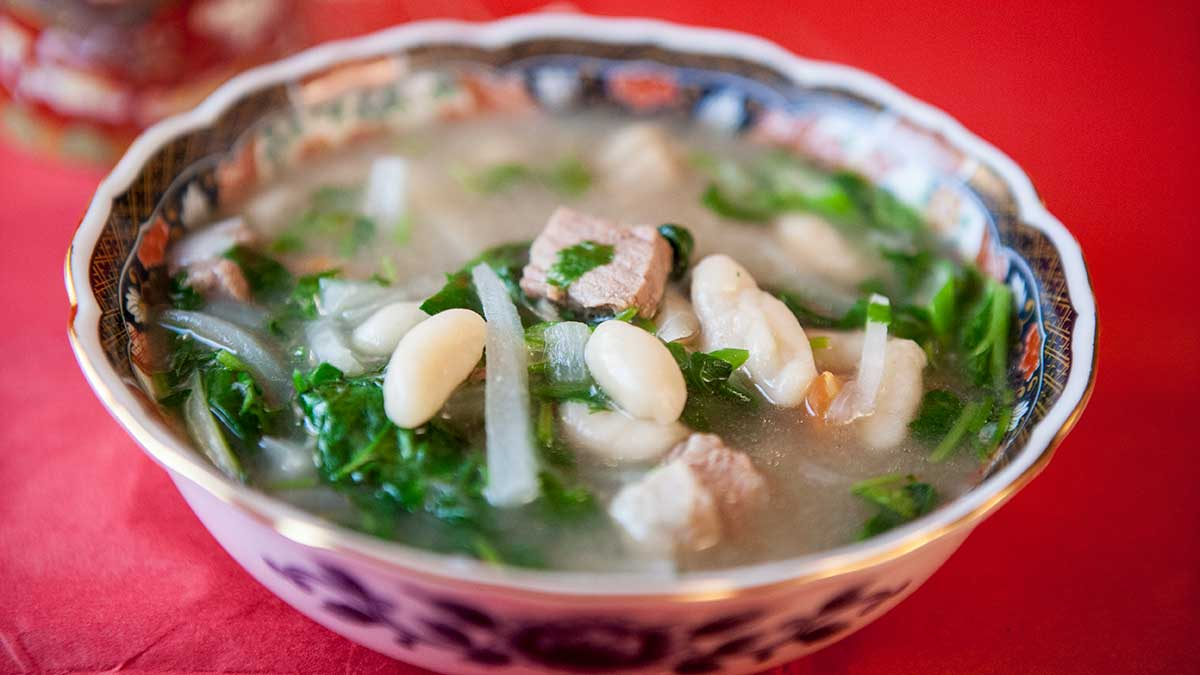 Thukpa Bhathuk Recipe
