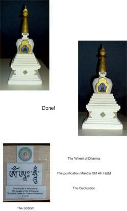 Building a stupa part  6