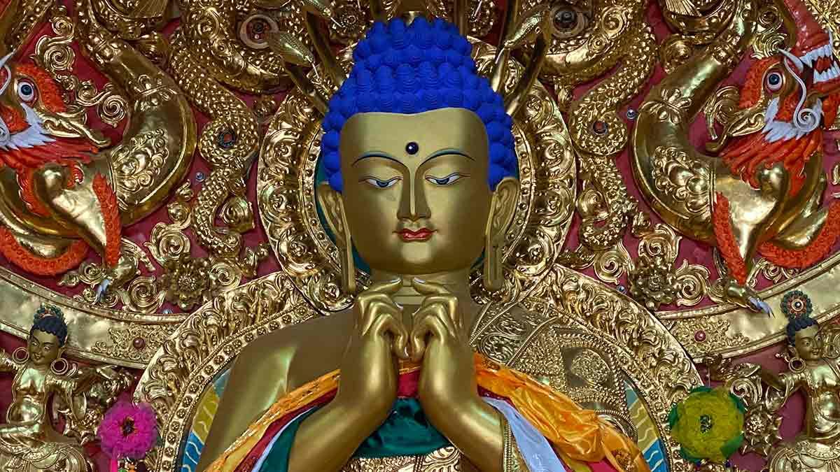 Chosang Monastery Buddha