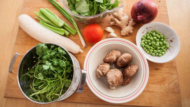 Veg Losar Guthuk Ingredients.