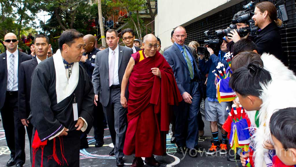 His Holiness the Dalai Lama's visit to the Bay Area, our local Tibetan community