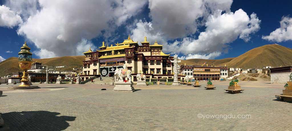 High Altitude Sickness: Sershul Monastery in Kham, Eastern Tibet