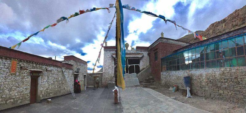 The lovely little Zutulpuk Gompa on the Kailash trek.