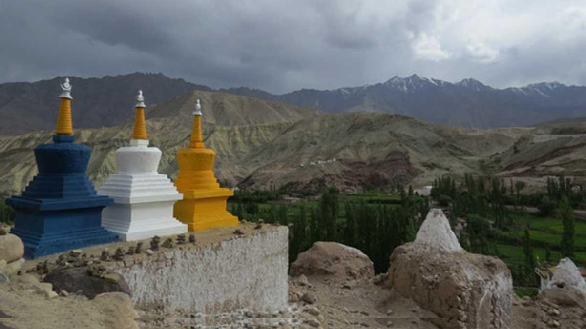 Location of the 2014 Kalachakra Initiation in Ladakh.
