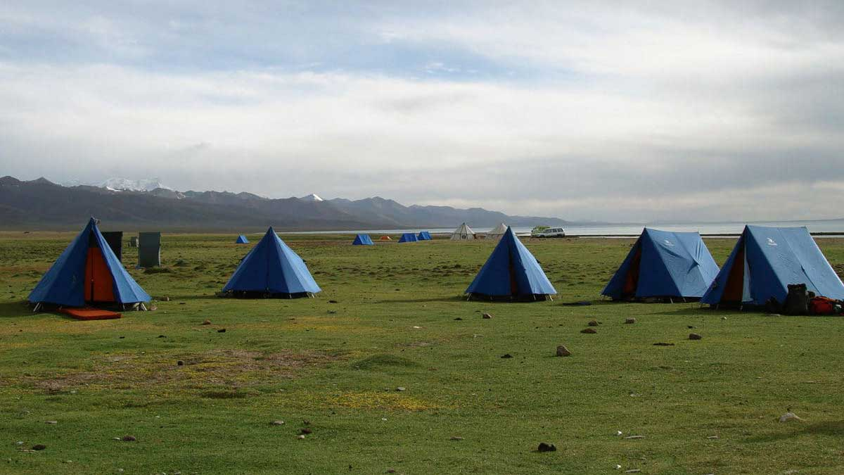 Tibetan Travel Agent: Camping at Namtso Lake on a Guided Trip