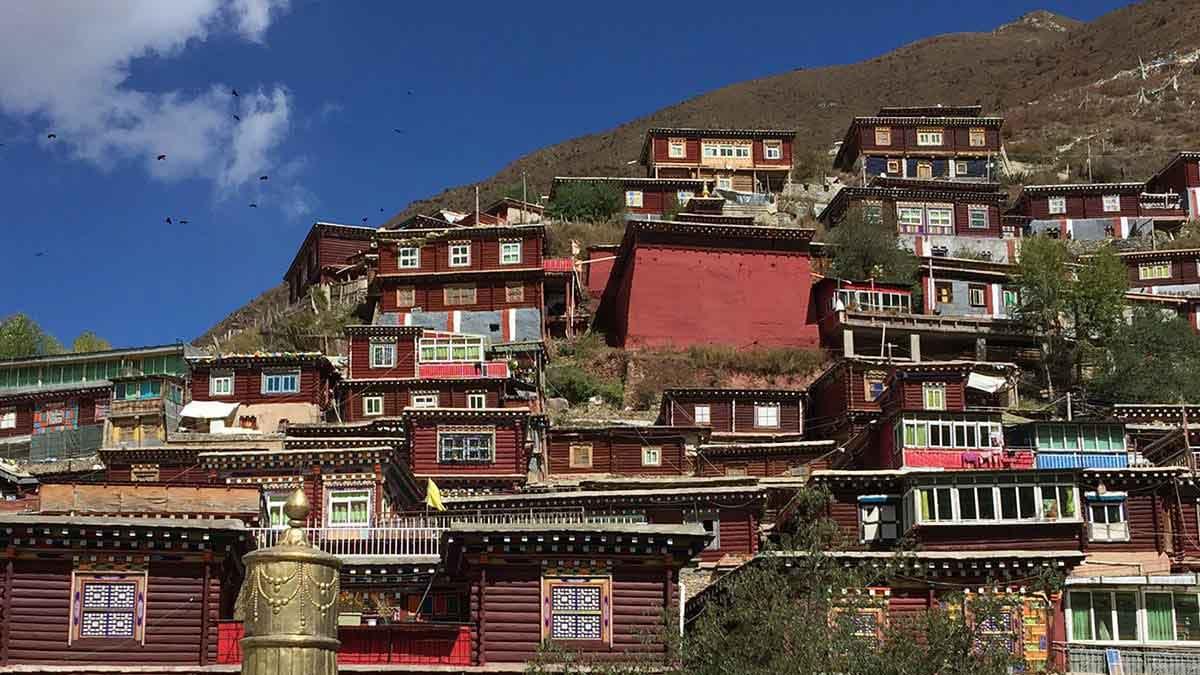 Phalpung Monastery in Kham, Eastern Tibet.