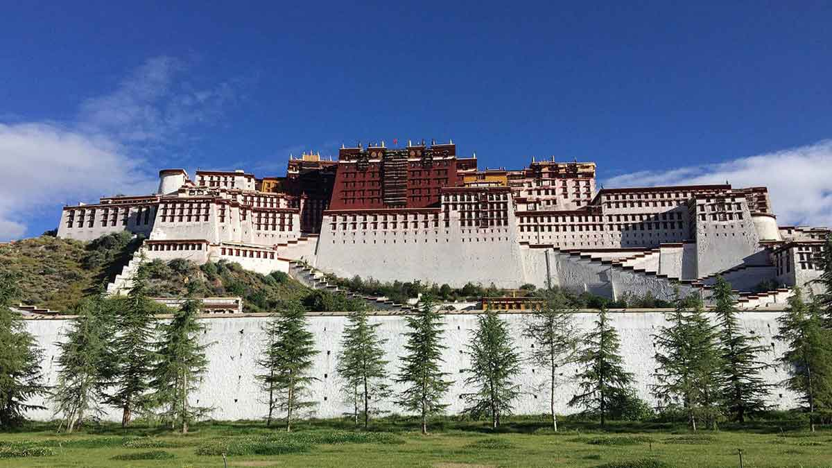 Potala Palace home of Dalai Lama