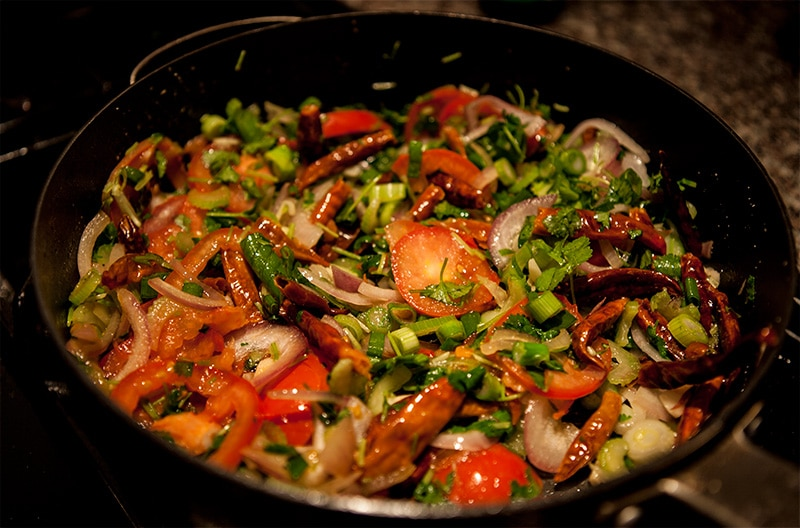 Tibetan Hot Sauce (Sepen) Recipe