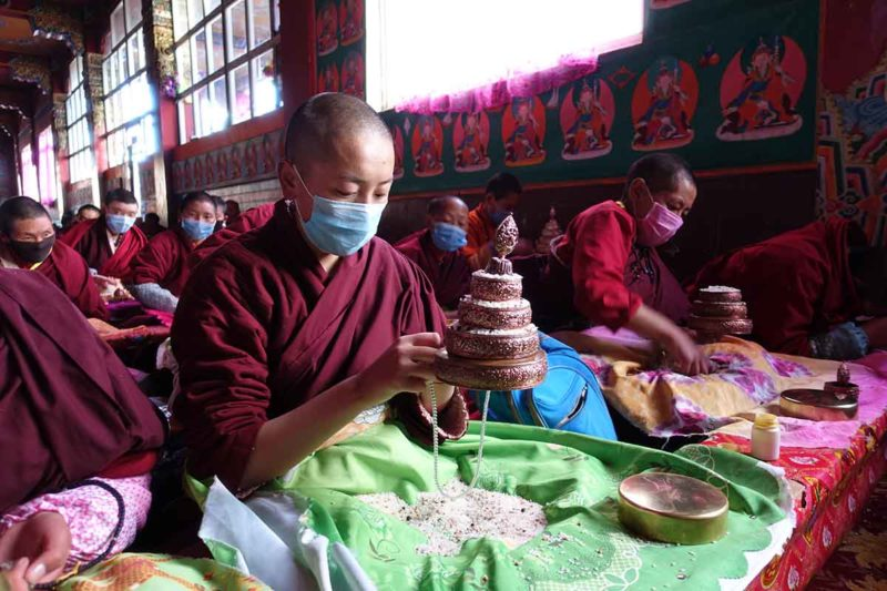 Traveling to Tibet: Yarchen Gar Nun Mandala Practice Kham