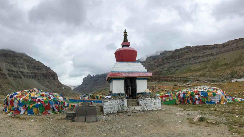 Mount Kailash stupa
