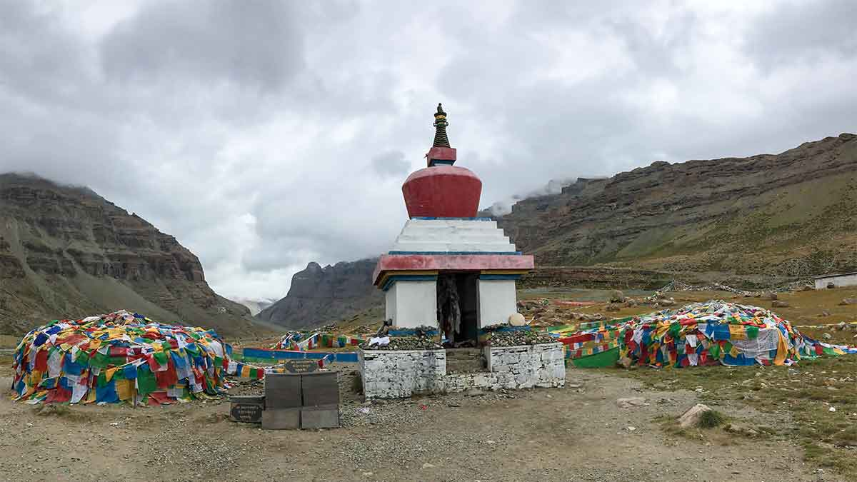 Mt Kailash stupa