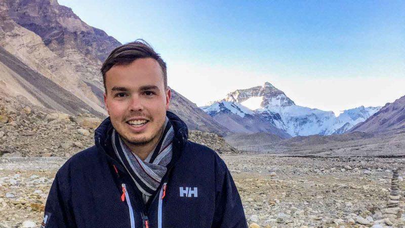 Visit Tibet: A Tibet Traveler at Everest Base Camp (EBC)