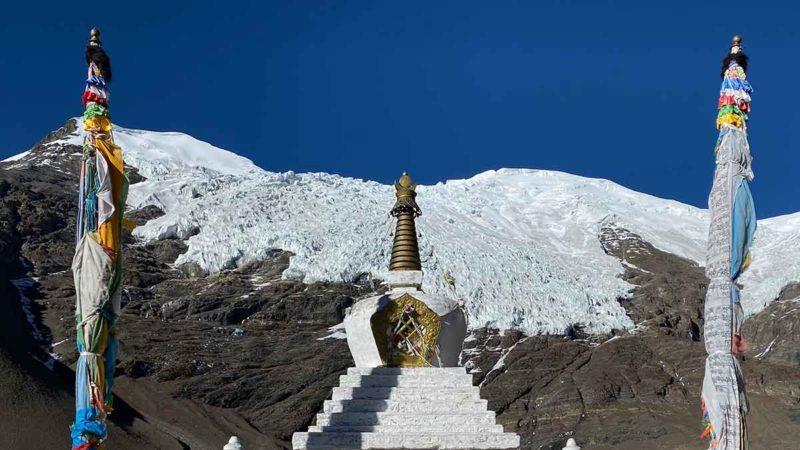 How to Visit Tibet: Nyenchen Khangsar Glacier near the Karo La Pass