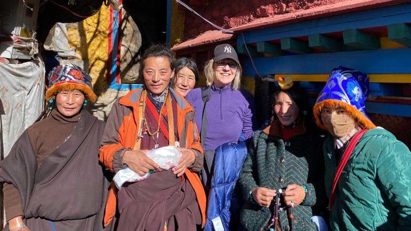 Visit Tibet: Winter at Chimpu Nunnery