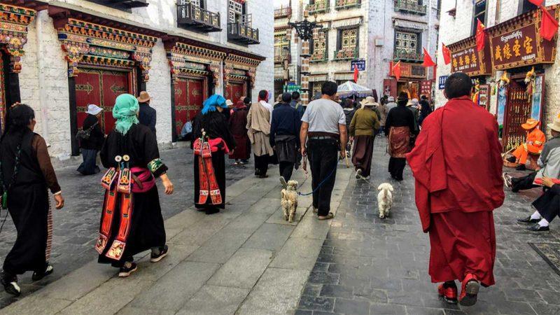 Lhasa Tibet Barkhor