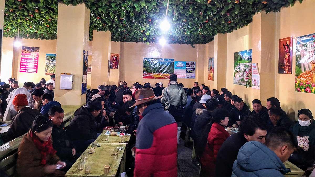Lhasa Tibet Gamchung Tea House