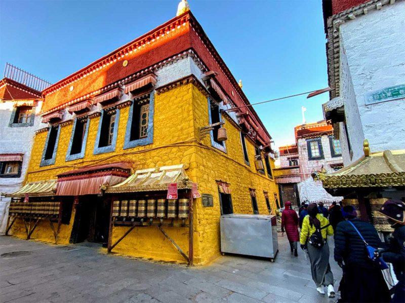 The Jamkhang in Lhasa Tibet