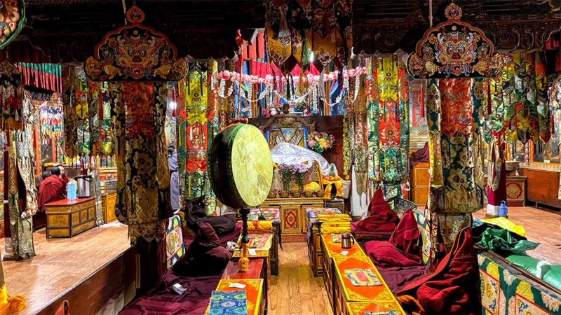 Lhasa Tibet Meru Lhakang