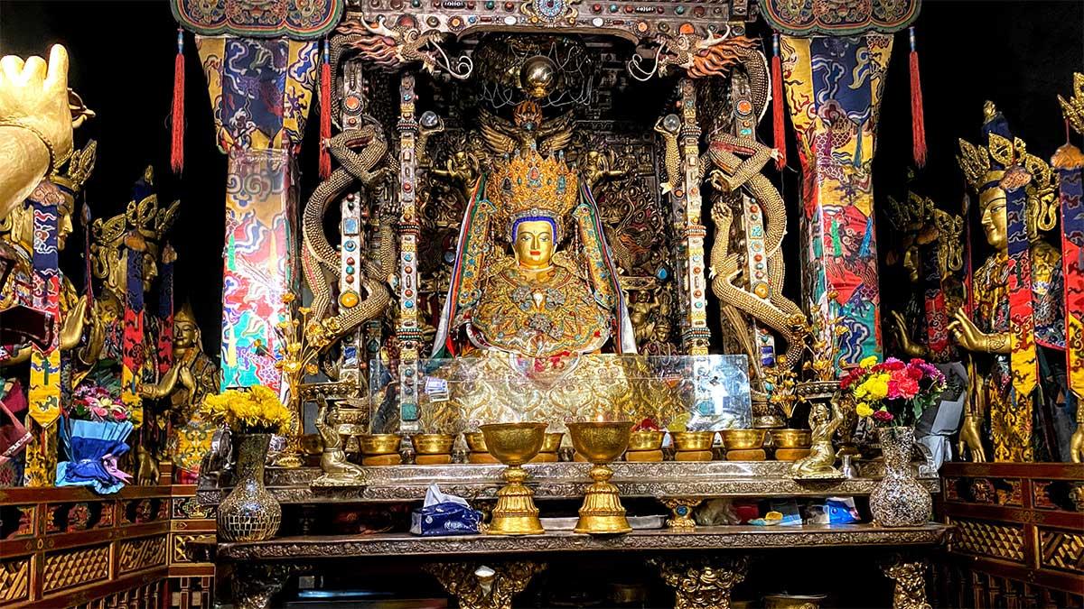 Lhasa Tibet Ramoche Temple Jowo