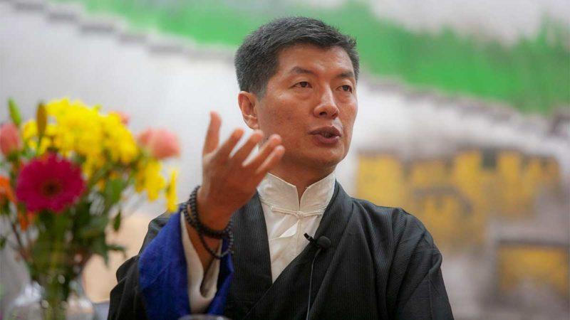 Sikyong Lobsang Sangay of the Central Tibetan Administration.