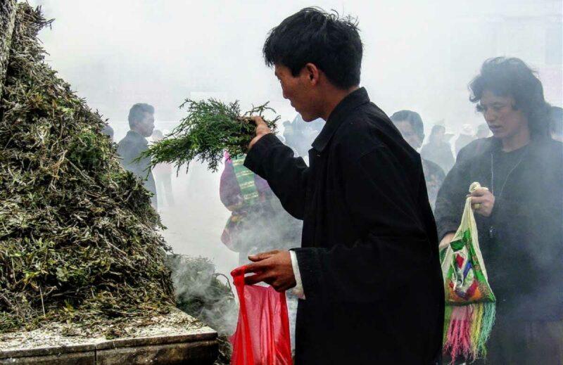 Barkhor Incense Burner Lhasa Sangsol