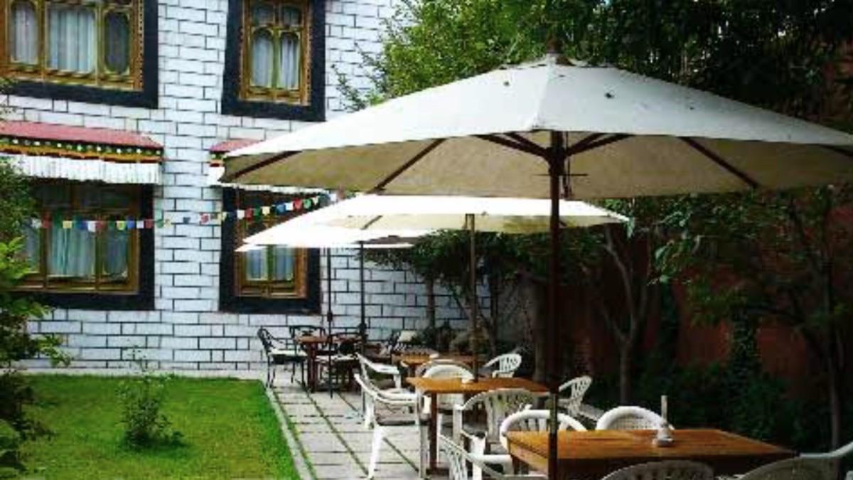 Kyichu Hotel Hotel and Restaurant Garden in Lhasa Tibet