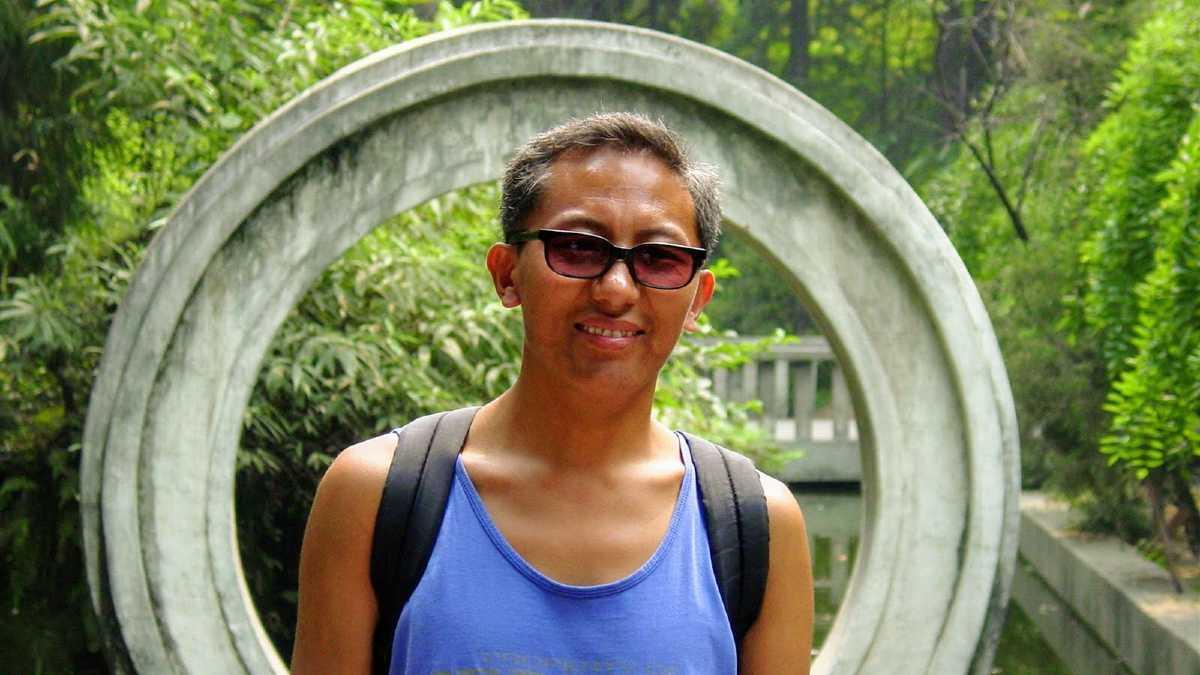 Lobsang in Chengdu.