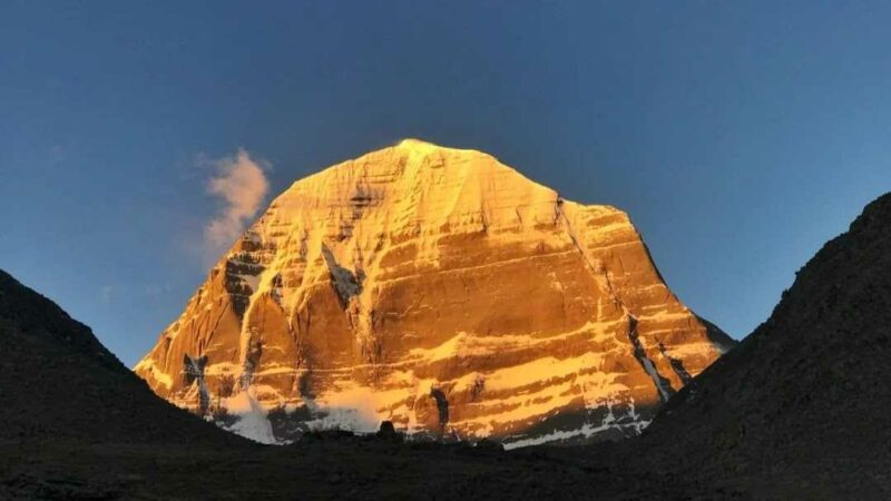 View of Kailash from Dirapuk Monastery.